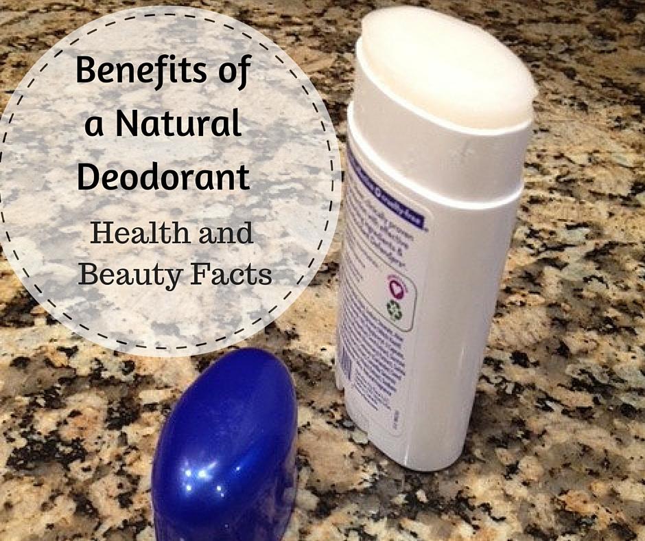Benefits of a Natural Deodorant
